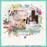 Party Time Birthday Scrapbook Kit