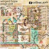 Winged Hope Page Pak