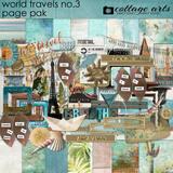 World Travels 3 Page Pak