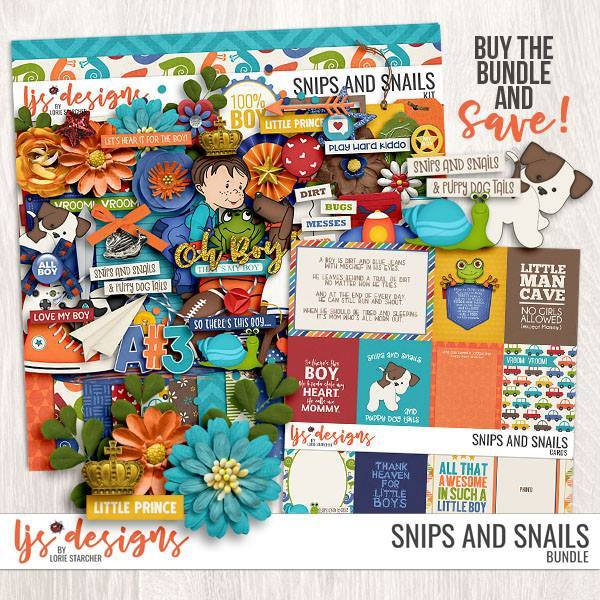 Snips And Snails - Bundle