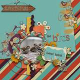 For The Birds - Individual Parts - Borders