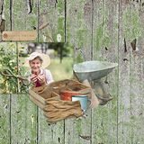 Memory Hoarders Potting Shed Finds - Wooden Papers