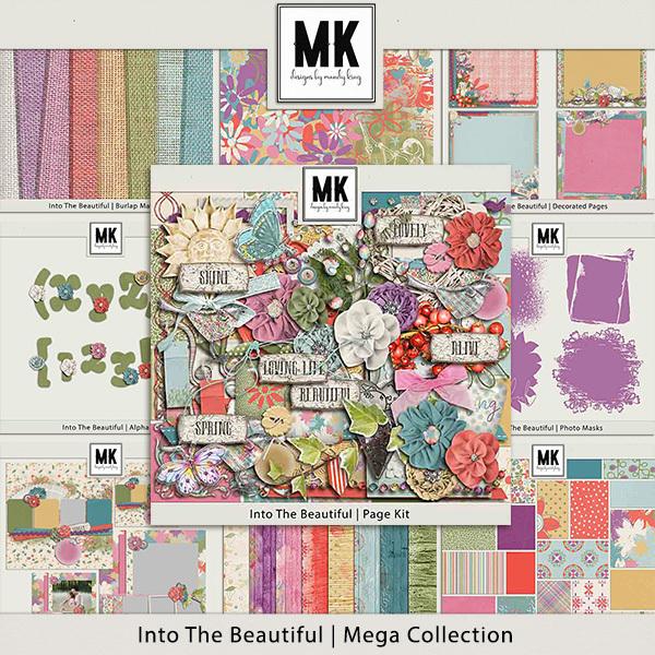 Into The Beautiful - Mega Collection Digital Art - Digital Scrapbooking Kits