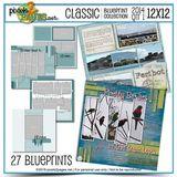 Classic Blueprint Collection 2014 - Quarter 1 (12x12)
