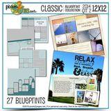 Classic Blueprint Collection 2014 - Quarter 2 (12x12)