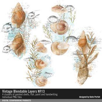 Vintage Blendable Layers No. 13