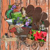 Memory Hoarders Potting Shed Finds - Clusters