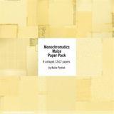 Monochromatics Maize Paper Pack