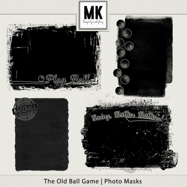 The Old Ball Game - Photo Masks