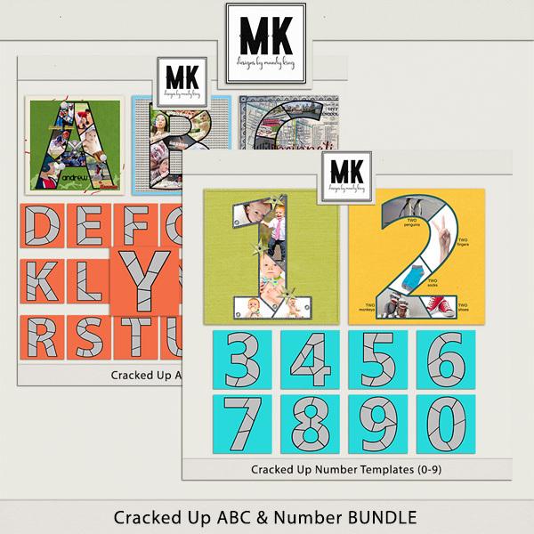 Cracked Up - Mega Collection Digital Art - Digital Scrapbooking Kits