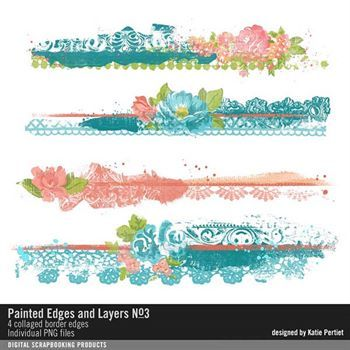Painted Edges And Layers No. 03