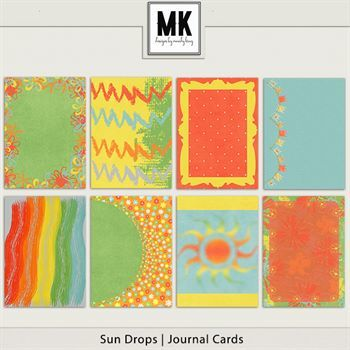 Sun Drops Collection - Journal Cards