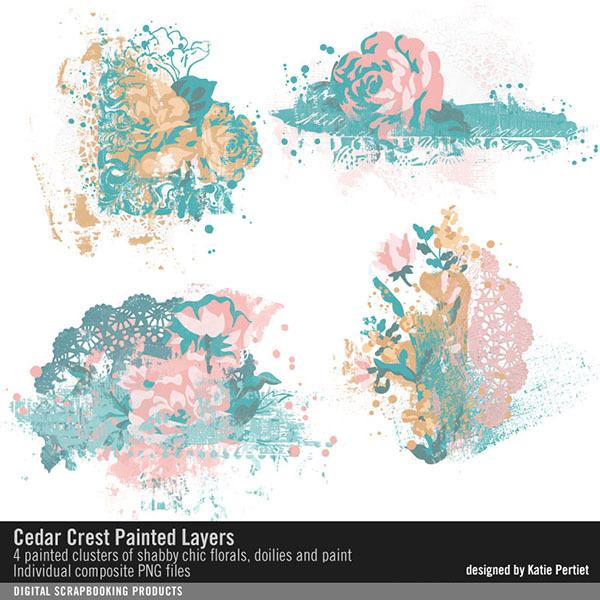 Cedar Crest Painted Layers