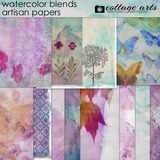 Watercolor Blends Artisan Papers