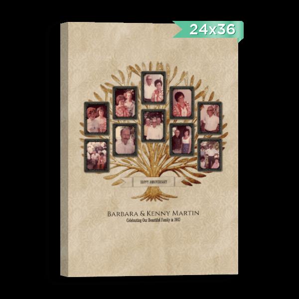 Vintage Family Tree 1