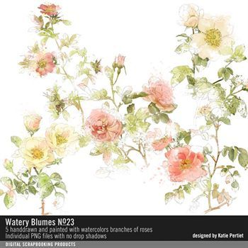 Watery Blumes No. 23