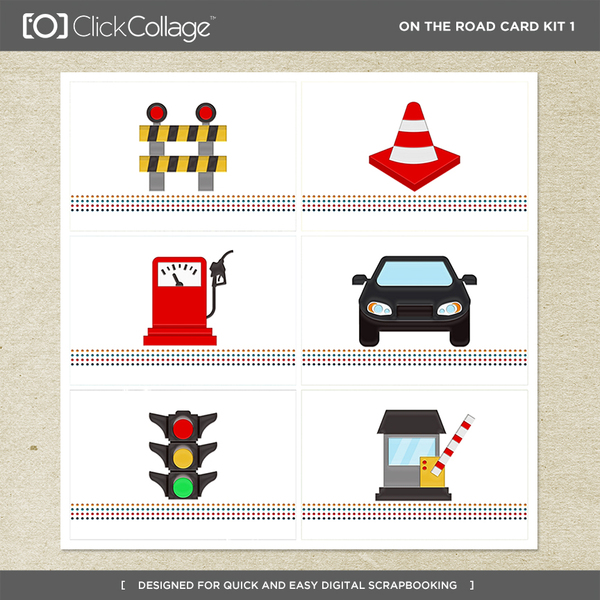 On The Road Card Kit 1