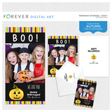 Halloween Greetings - Card 1