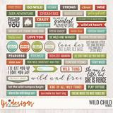 Wild Child 2.0 Words