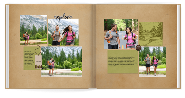 Adventure Anywhere Photo Book