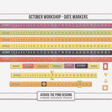 October Workshop - Date Markers