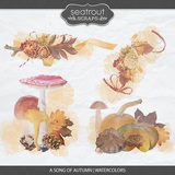 A Song Of Autumn - Watercolors