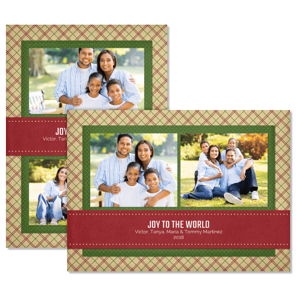 Holiday Traditional Card