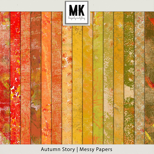 Autumn Story - Messy Paper Pack