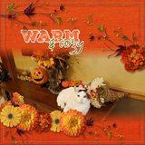 Autumn Story - Word Art