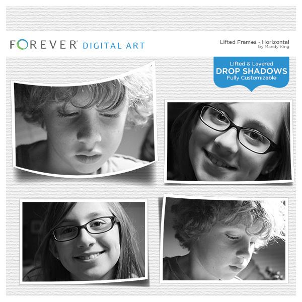 Lifted Frames - Horizontals