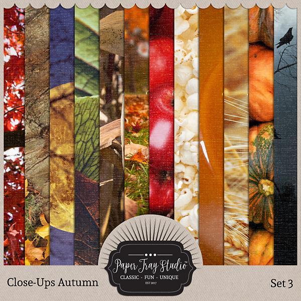 Close-ups Autumn - Set 3