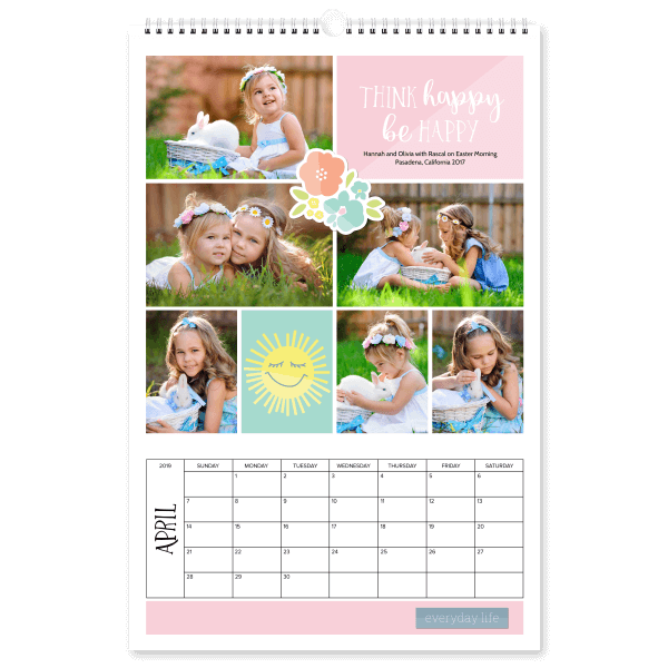 Be Happy Calendar