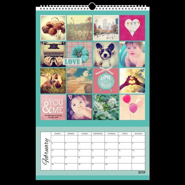 Be Square 1 Calendar