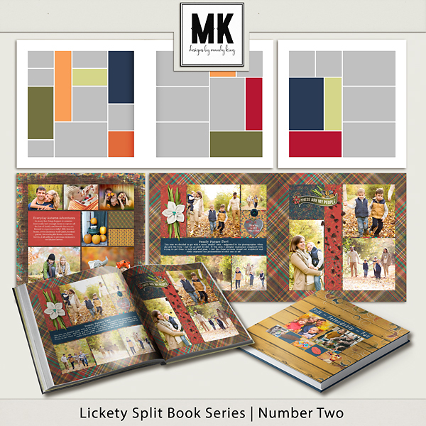 Lickety Split Book Series - Book Two Digital Art - Digital Scrapbooking Kits