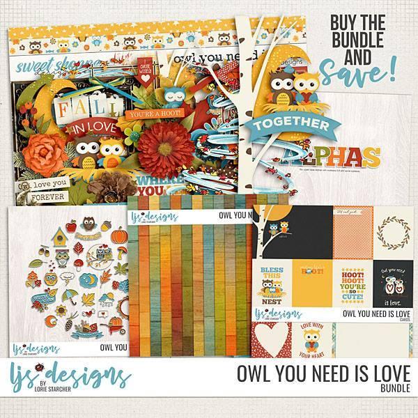 Owl You Need Is Love Bundle