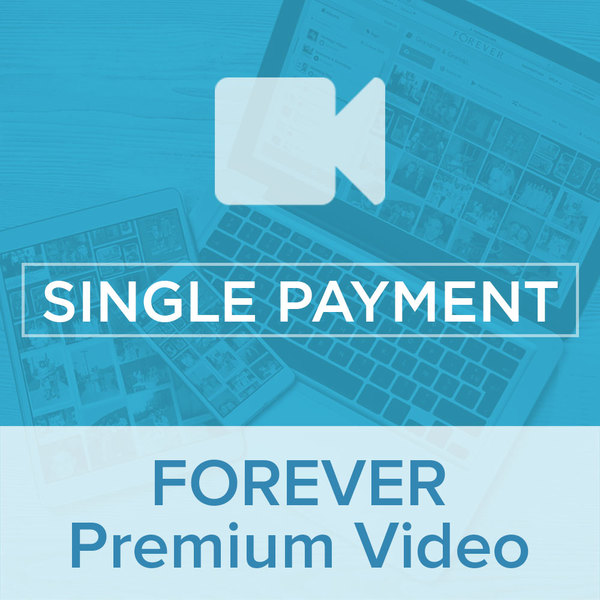 Premium Video Plan Single PaymentGive the gift of Digital Art, Software, Storage, and Video plans. Make a lasting impression with our hand-selected favorites from FOREVER®.