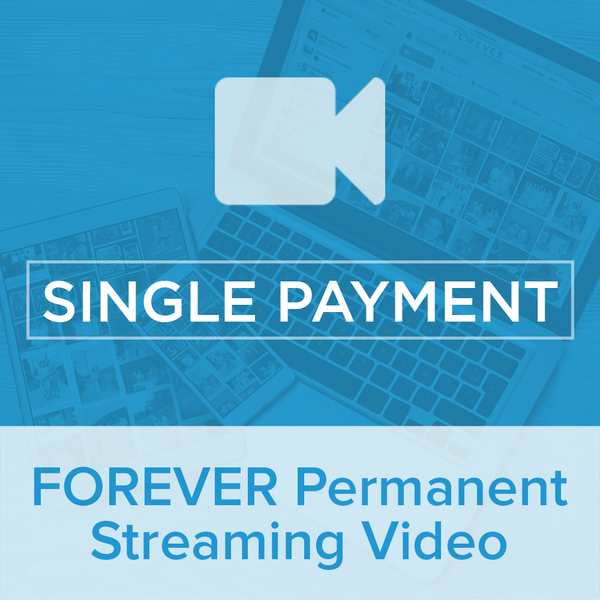 Permanent Streaming Video Single PaymentGive the gift of Digital Art, Software, Storage, and Video plans. Make a lasting impression with our hand-selected favorites from FOREVER®.