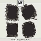 Holiday Story - Photo Masks