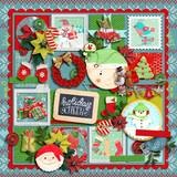 Holiday Story - Messy Papers
