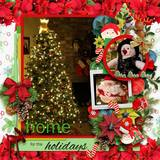 Holiday Story - Torn Papers