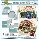 Homemade Happiness Blueprint Collection (12x12 And 11x8.5)