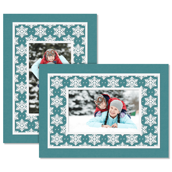 Bold Snowflake Card