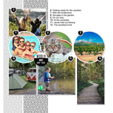 2019 Day2Day Full Year 12x12 Pre-designed Book Bundle