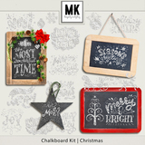 Chalkboard Kit - Christmas