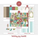 Holiday Joy Embossed Cardstock