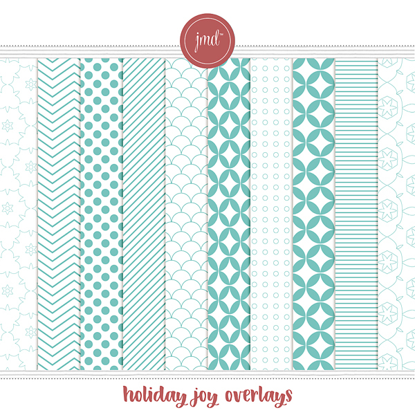 Holiday Joy Overlays