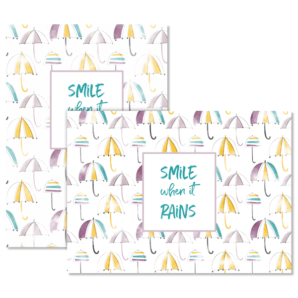 Smile When It Rains Card