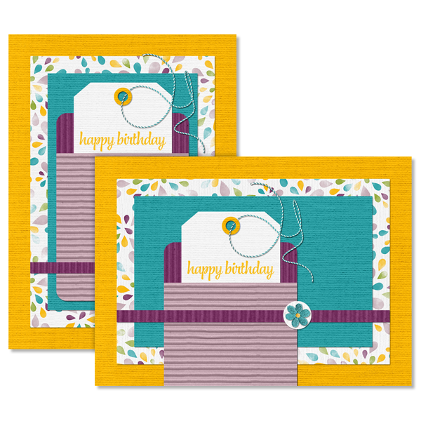 Pocket Birthday Card