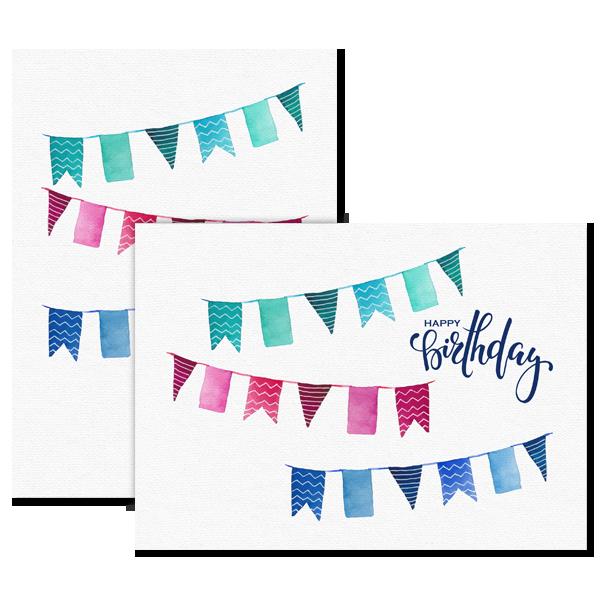 Birthday Banners Card