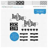 2019 Day2Day 1st Half 12x12 Pre-designed Book